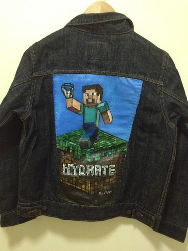 """Hydrate"" a jacket for Taylor"