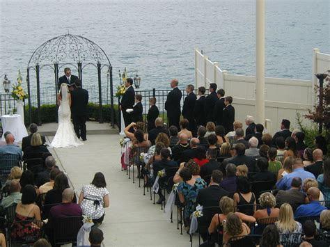 roostertail detroit mi michigan wedding ceremony