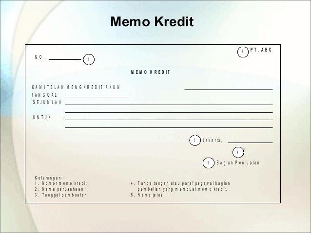 66 Printable Contoh Format Memo Kredit Pdf