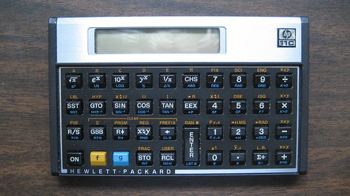 Hewlett Packard 11C Scientific Calculator
