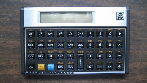Hewlett Packard 11C Scientific Calculator