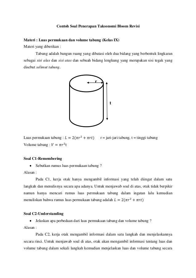 Contoh Soal C1 C2 C3 C4 C5 C6 Matematika - Rq0im1kwpsqzbm