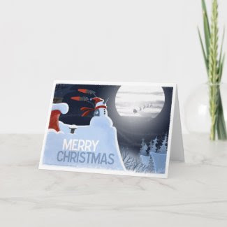 Snowman Flight Control card