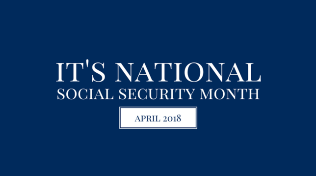 It's National Social Security Month!