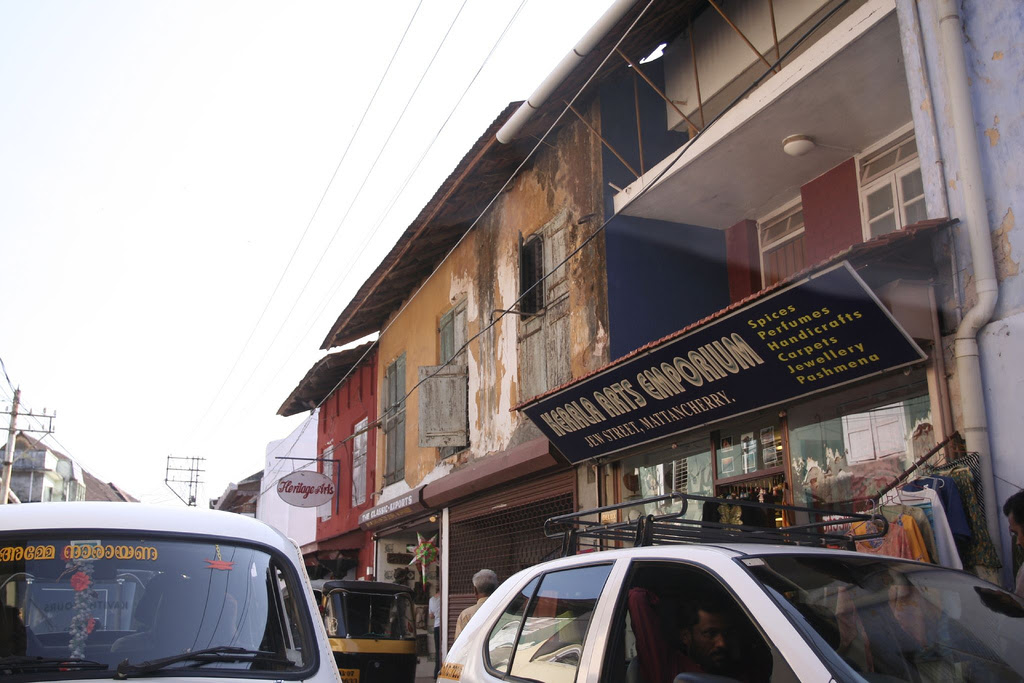 Jew Street, Cochin. (photo credit: CC-BY diametrik/Lian Chang/ via Flickr)
