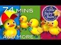 FIVE LITTLE DUCKS - NUMBER SONGS - NURSERY RHYMES