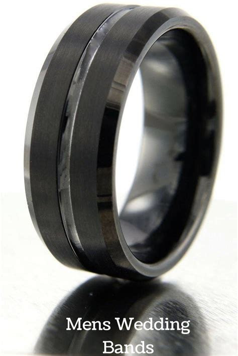 15 Best Ideas of Grey Tungsten Wedding Bands