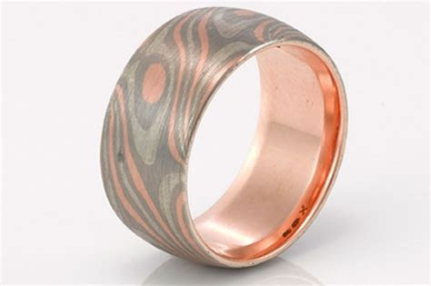 Men's wedding rings: who says they're boring?