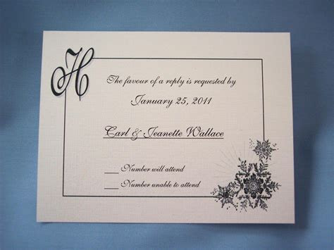 Wording For Wedding Reply Cards ~ Wedding Invitation
