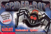 Kai's spider robot - box top