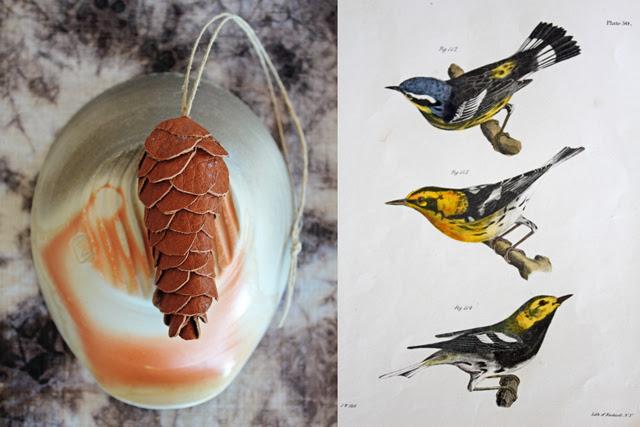 Pinecone & Birds