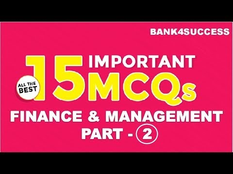 Management MCQs With Explanation for RBI Grade B Set -2 PDF Download