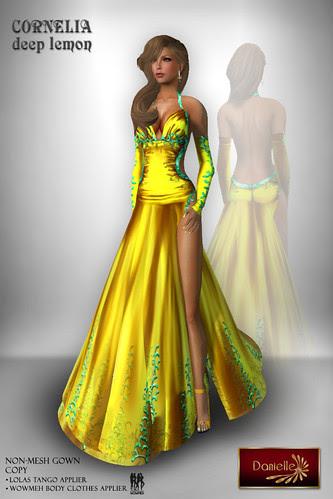 DANIELLE Cornelia Deep Lemon