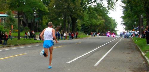 The winner passes on Summit Ave. - Jason Hartman