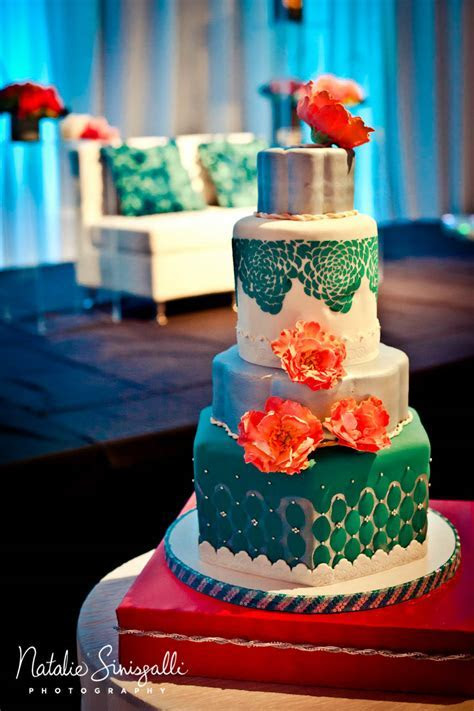 Coral Teal Wedding   Hyatt Rochester, NY   Indian wedding