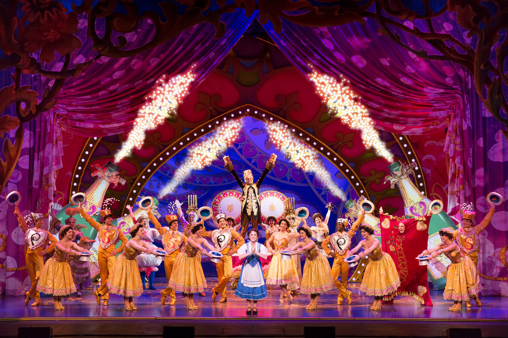 Beauty And The Beast With Design By The Original Broadway Creative