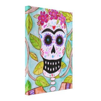 MI SENORA FRIDA CANVAS PRINT