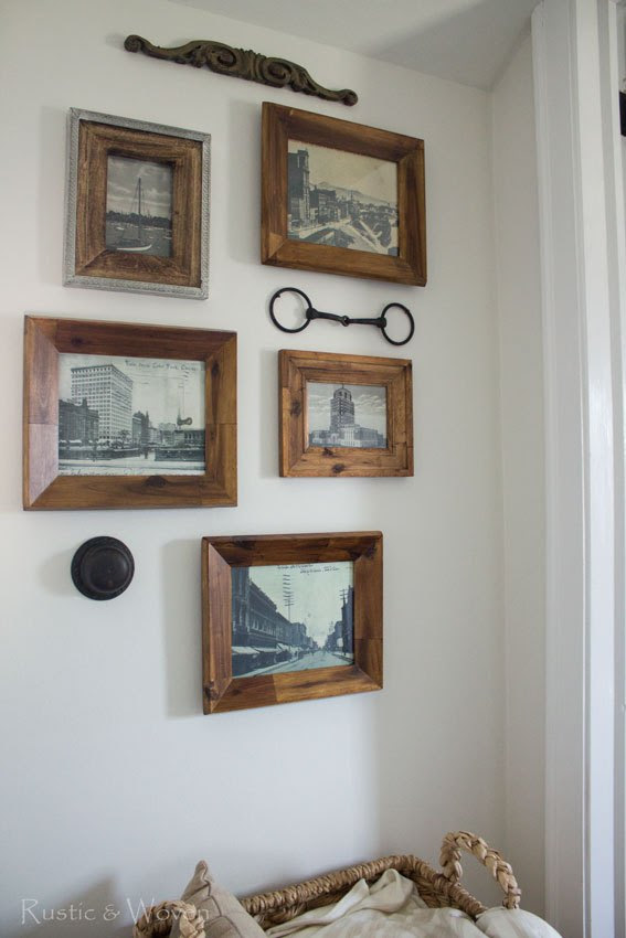 Antique-Postcard-Gallery-Wall