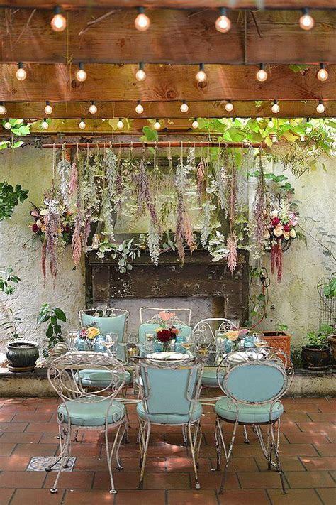 Picture Of Whimsical Indoor Brooklyn Garden Wedding