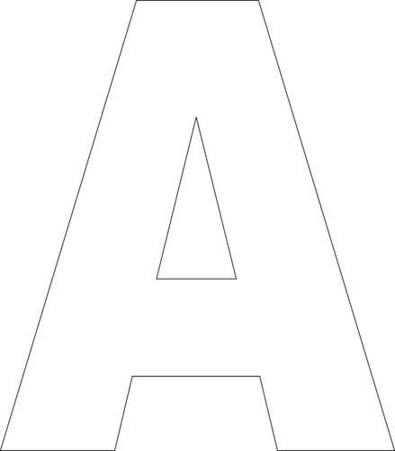 1000+ ideas about Alphabet Templates on Pinterest | 3d alphabet ...