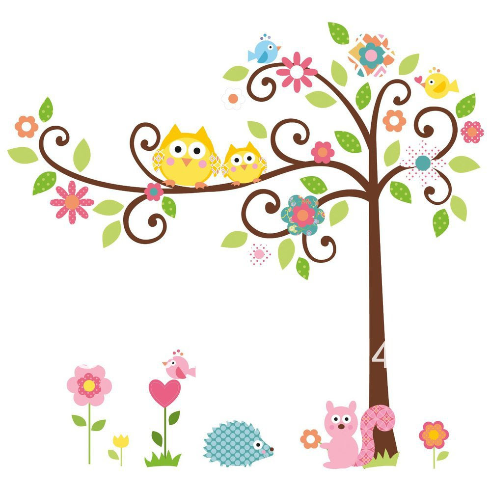 cute owl on tree clipart RiGybdoiL
