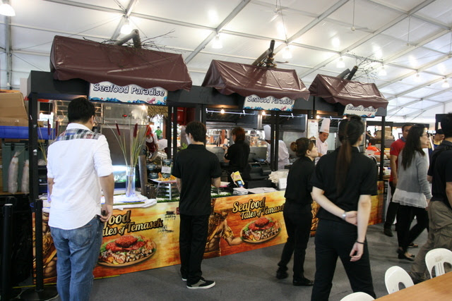 Seafood Paradise at Singapore Food Festival 2012