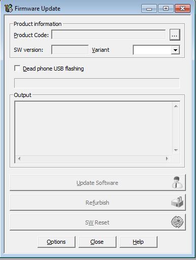 update firmware