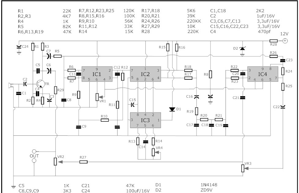 Security Circuit Diagram Car
