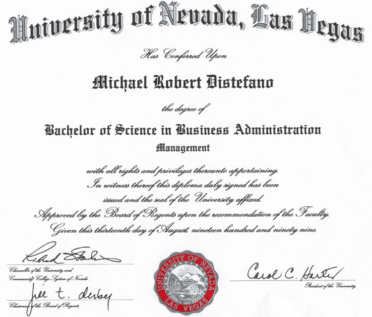 Bachelor Of Business Management - Bachelor Of Science In Business ...