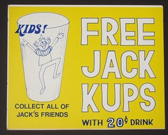 Jack in the Box Kups sign