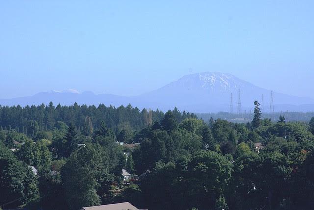 Mt. St. Helens from St. Johns Bridge