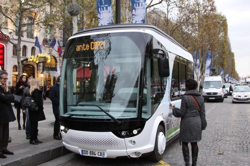 Bluetram Bolloré a Parigi