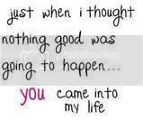 And Then You Came Into My Life Quotes Since You Came Into My Life