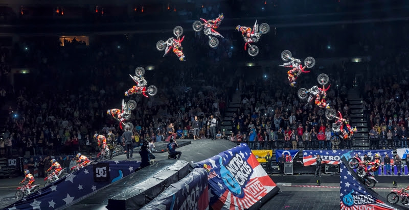 Nitro Circus Top 10 Craziest Tricks