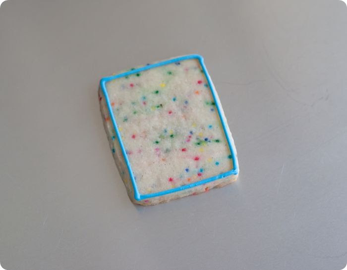 super vanilla confetti cut-out cookies!
