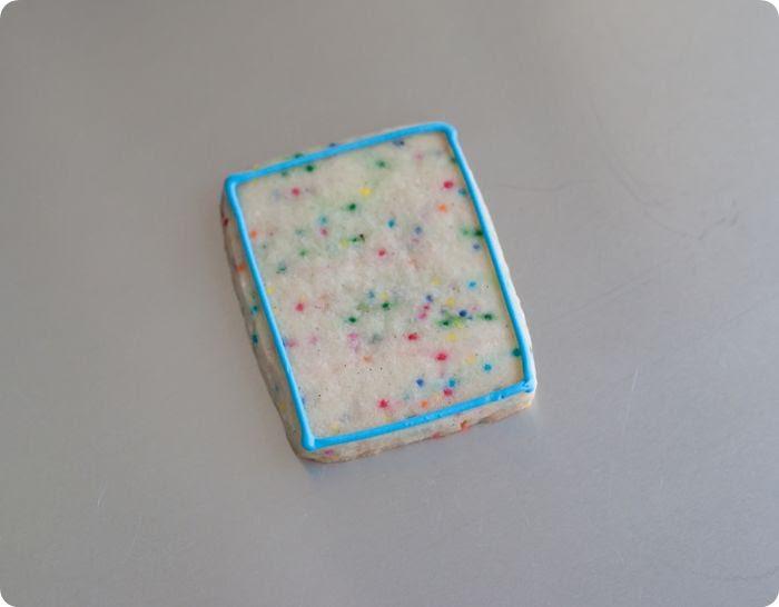super vanilla confetti cut-out cookies!