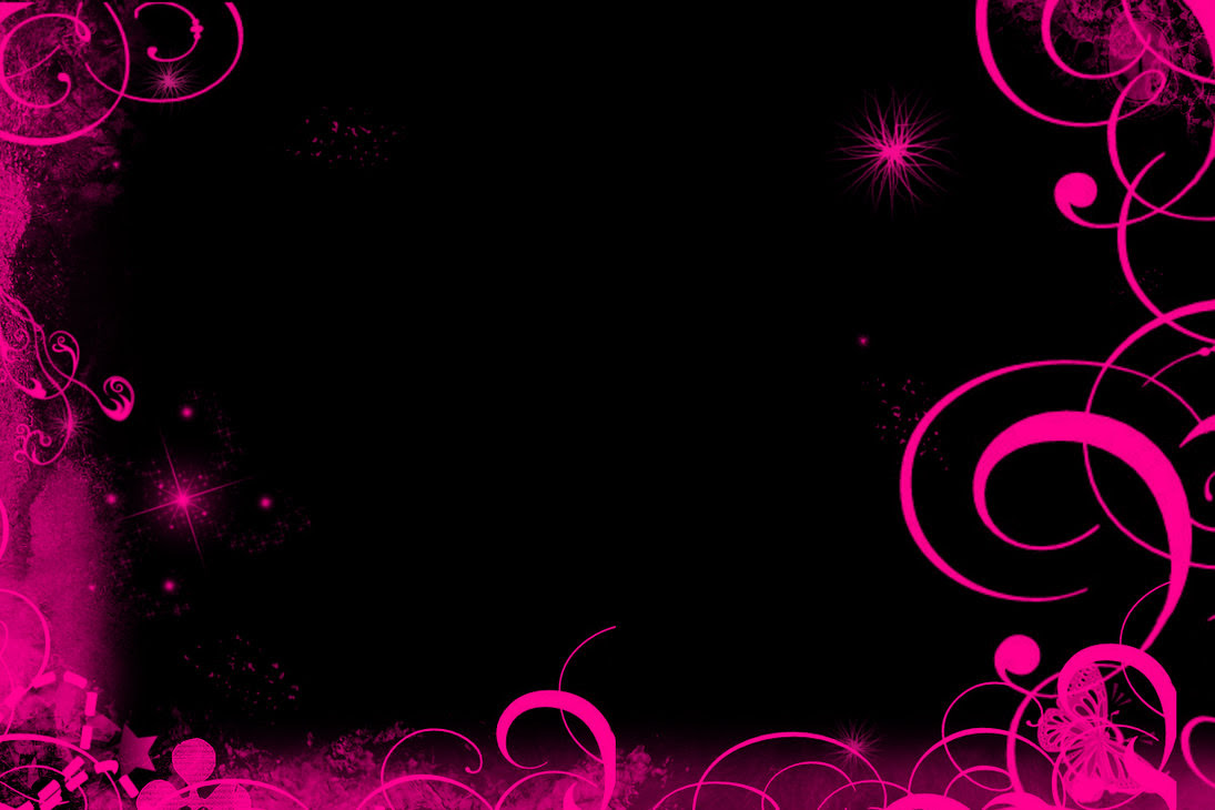 Cool Pink And Black Background Remar