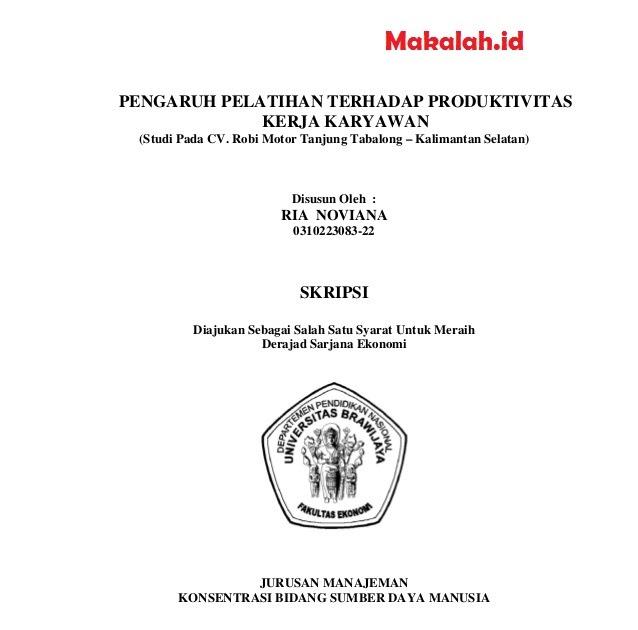 Judul Skripsi Manajemen Pemasaran 3 Variabel 2018 Kumpulan
