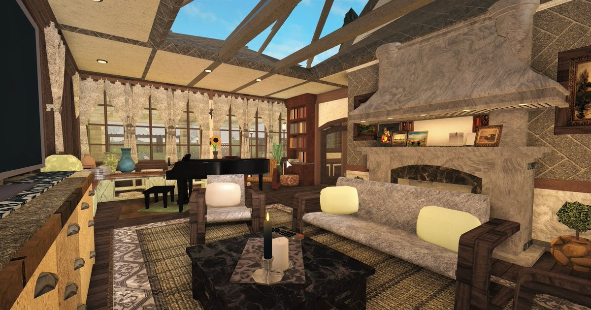 Roblox Bloxburg Living Room Ideas Can U Get Your Robux Back