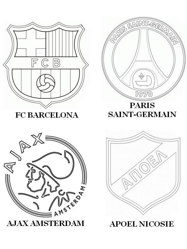 Coloriage Maillot De Foot Barcelone.Plus Que 50 Coloriage Foot Paris Saint Germain
