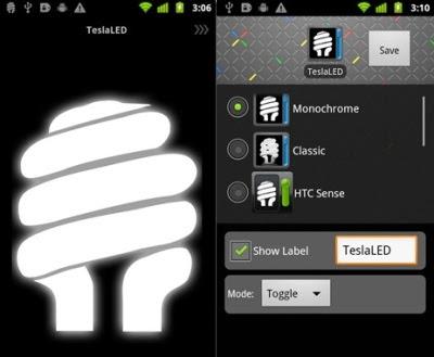 Aplikasi senter untuk android