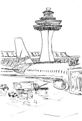Gate B67, Dulles Airport