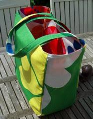 Strandtas - omkeerbaar