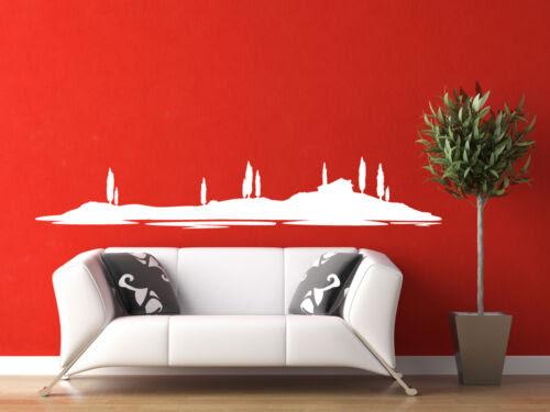 Wandtattoos Wandbilder Deko Skyline Wohnzimmer Wandaufkleber Wandtattoo Landschaft Italien Toskana Mobel Wohnen Elin Pens Ac Id