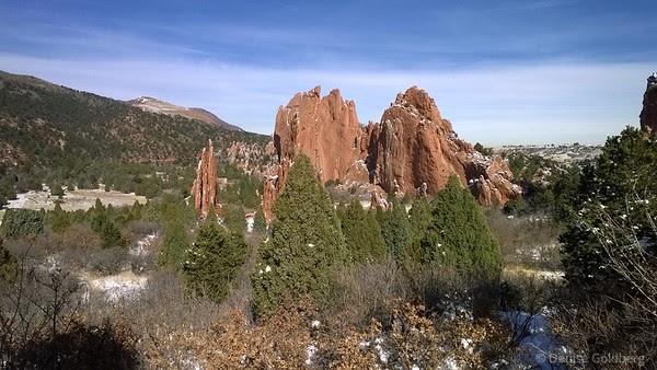 in Garden of the Gods, Colorado Springs