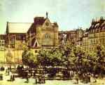 Claude Monet.  Saint-Germain l'Auxerrois.