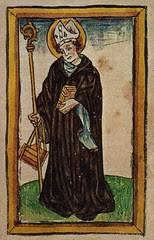 Heiliger Otmar, Abt in St. Gallen