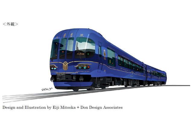 京都丹後鉄道水戸岡鋭治氏デザインの特急車両丹後の海を発表