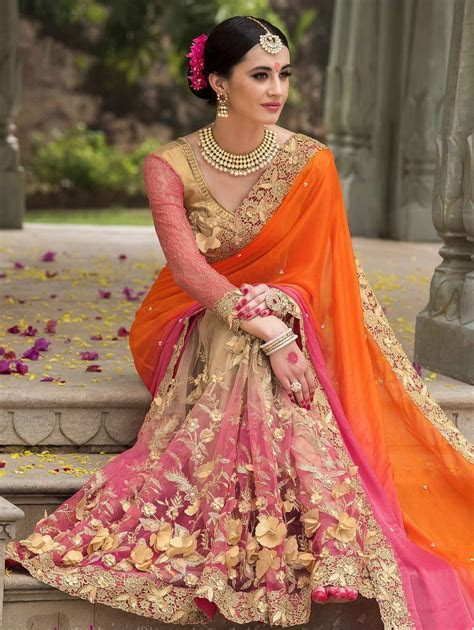 Latest Indian Wedding Sarees Collection   All For Fashions