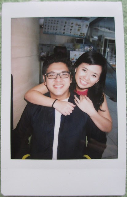 Instaxed: Cathy's Wedding